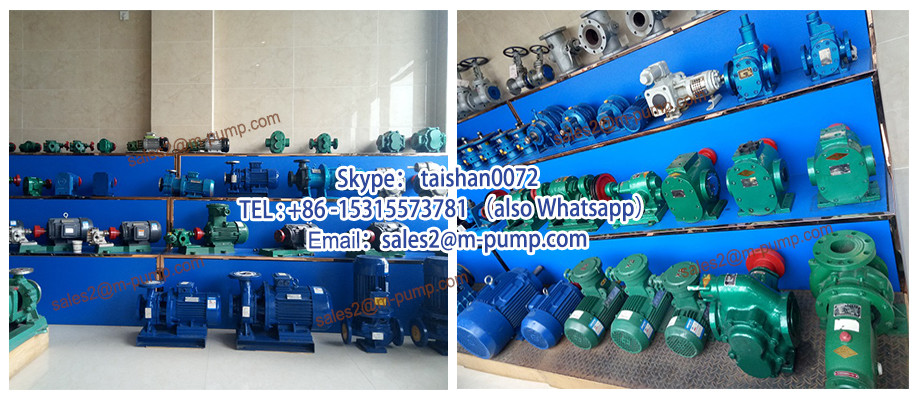 Heavy Duty Sulfuric Acid Pump Centrifugal with 380v electric motor