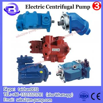 Sanitary electric centrifugal pump