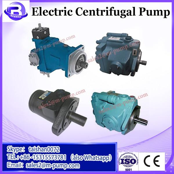 Centrifugal 10kw electric water centrifugal paper pulp pump for paper making industry #3 image