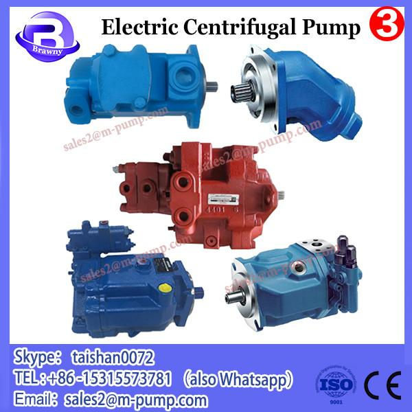 electric motor high pressure horizontal double stage centrifugal water pump #3 image